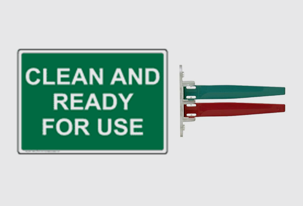 Clean and Ready to Use Sign