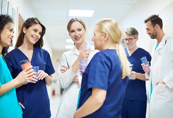 Engaged Medical Staff