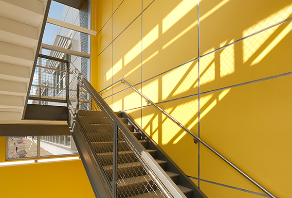 Stairwell in Health System
