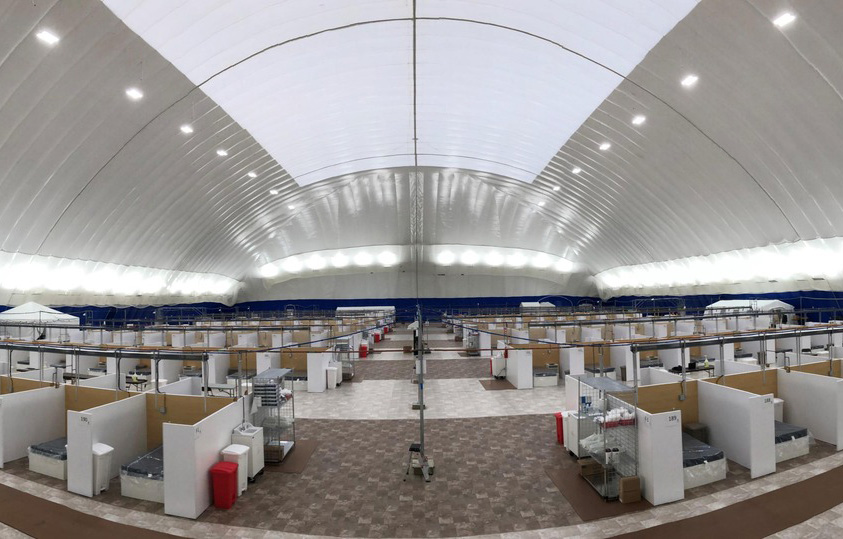 Temporary Field Hospital Hub Photo